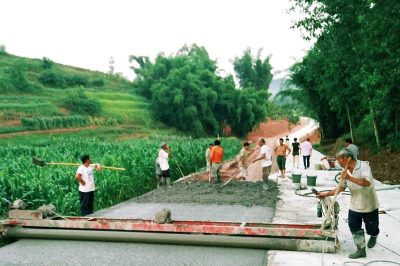 寬回村道路整改工程