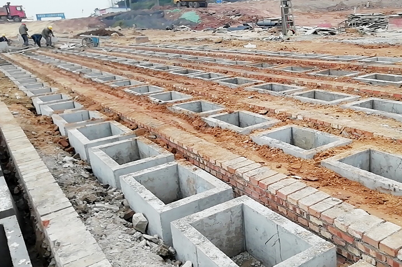 宜賓市南溪區公墓B區擴建項目總平(第二次)