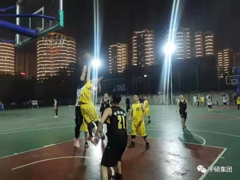 燃青春—宇碩集團與吉星酒業籃球友誼賽火熱開賽